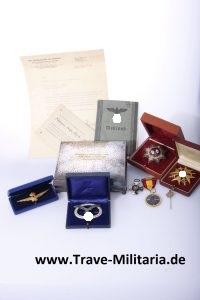 Pilot Badge first form 1935 whole estate
