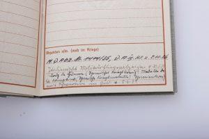 Pilot Badge first form 1935 Soldbuch