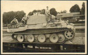 "04 Panzer V ""Panther"" rail transport"